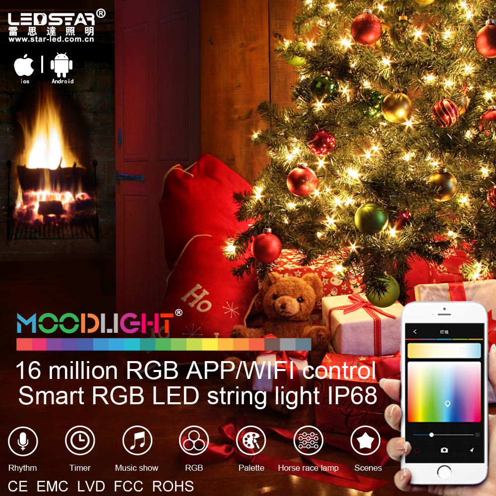 christmas sale high quality christmas light led smart wifi app control by mobilewaterproof and 16 million rgb buy christmas light ledchristmas sale