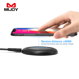2018 Newest Fast Wireless Charger for iphone X wireless charger,for iphone 8 wireless charger,for QI wireless charger