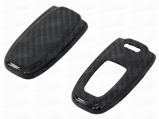 66cf95853be856 Carbon Fiber Key Fob Cover For Audi A4l A6l Q5 A7 A8l - Buy For Audi ...