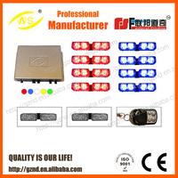 AS-868 48W LED grille light Car & Truck Strobe Light Amber White Red Blue
