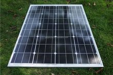 energy system mono solar panel 70W for home in solar cell