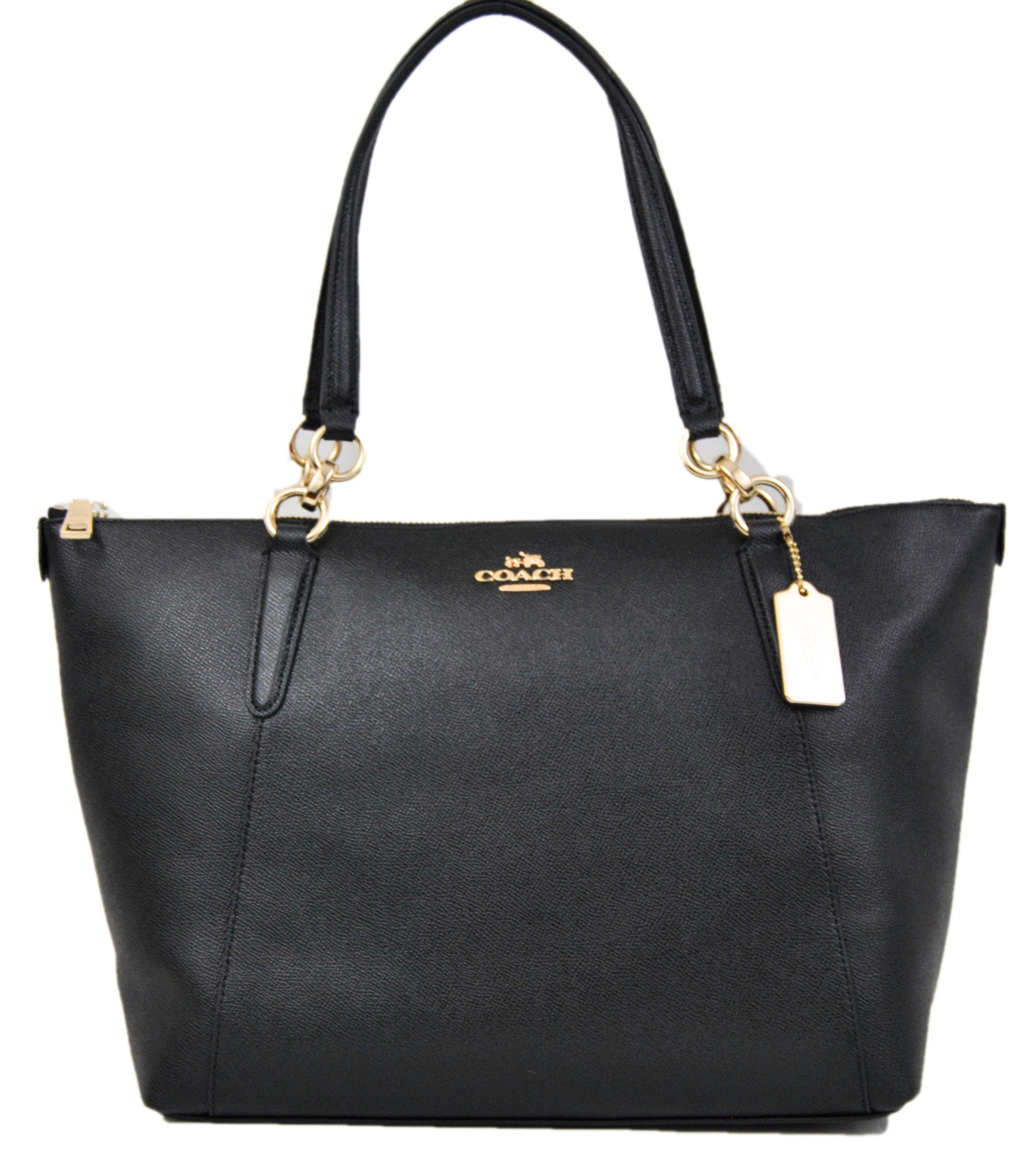 628ca6bb6c2e Get Quotations · COACH Crossgrain Ava Tote Shoulder Bag Black