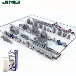 Dairy milk production line machinery processing equipment