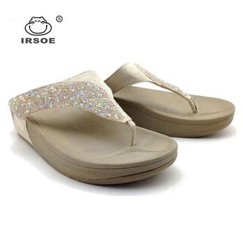 20aa23a523454 2019 hot sale flip-flop style IRSOE sandals ladies fancy footwear slippers  customized