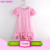 Children clothing kid smocked dress monograms fashion frock girls party wear pearl tunic kids long icing flutter sleeve dress