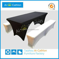 Banquet Lycra Wholesale conference room Table Tablecloth