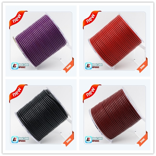 nappa leather cords popular style leather lace for shoes