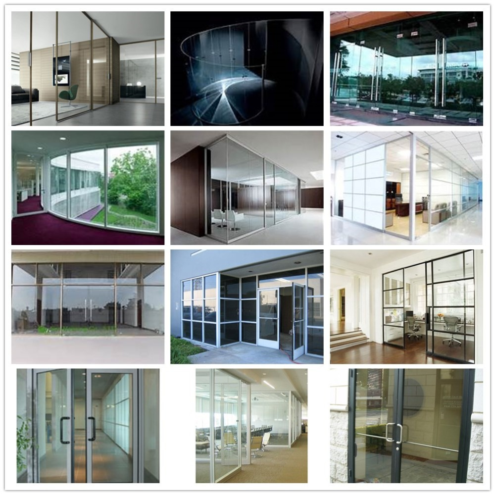 Interior glass curtain wall - Interior Glass Wall Prices Frameless Glass Curtain Wall