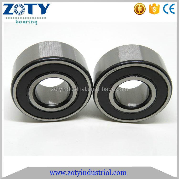 3204 20x47x20.6 mm Double Rangée Contact Angulaire roulement à billes