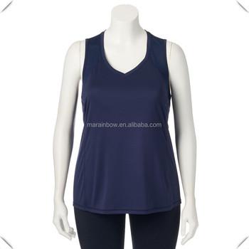 a319b590c4d66 Women performance Dry Fit Tank Top Wholesale Gym singlets Ladies plus size  Yoga Singlets female workout