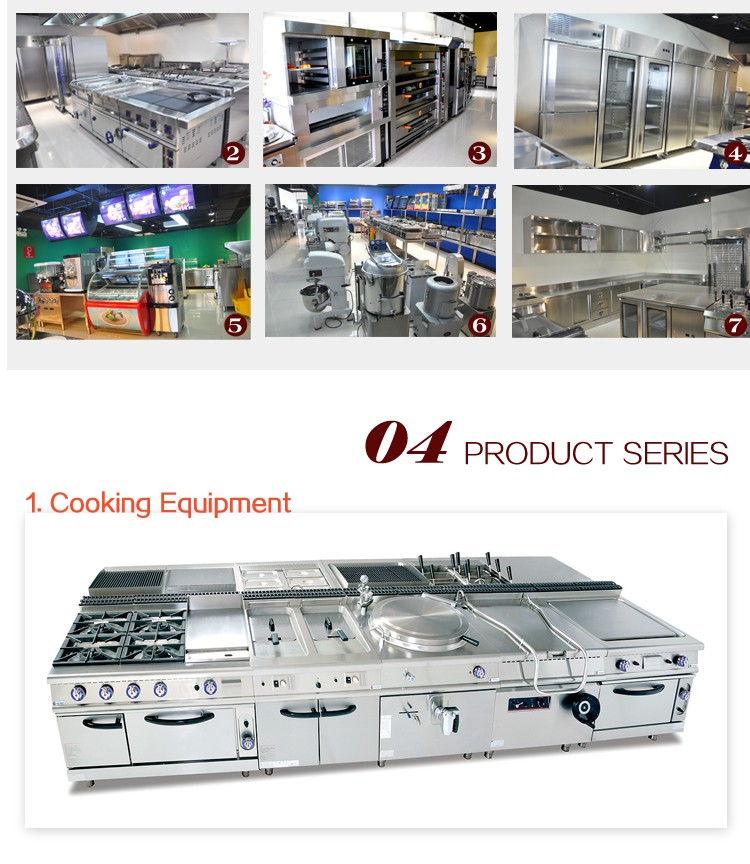 Commercial 900 Series Hot Sale Hotel Restaurant Kitchen