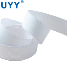 White high elasticity crochet elastic band for belt and home textile