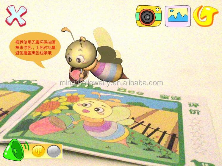 Ar Pintura De Color Dibujo 3d/4d Libros De Magia Para Los Niños ...