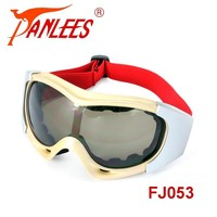 Panlees Glasses Padded Frame Lens Block 100% UVB for Outdoor Activity Sport Motorcycle Safety Goggle