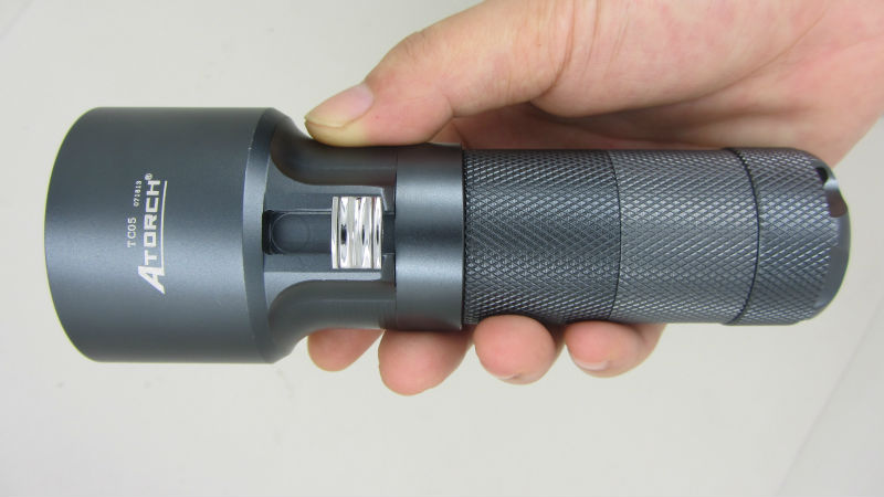 Rechargeable Flashlight Spearfishing Gear Tactical Led Diving ...