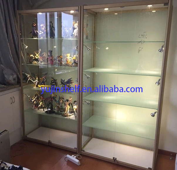 Used Full Vision Glass Display Case Glass Tower Display