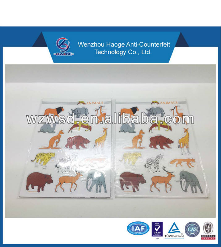 hot sale animal shape puzzle refrigerator magnets