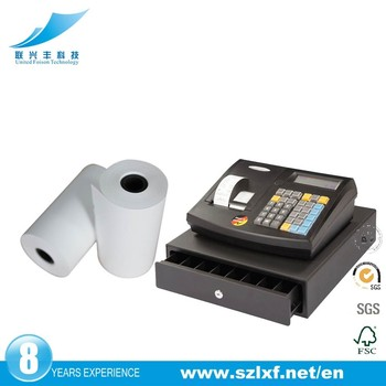 2017 Hot selling 57mm pos thermische papier voor printer kassa POS/ATM machine
