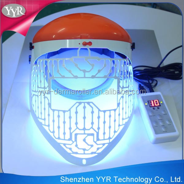 YYR new professional PDT BIO light therapy 3 color photon led skin rejuvenation