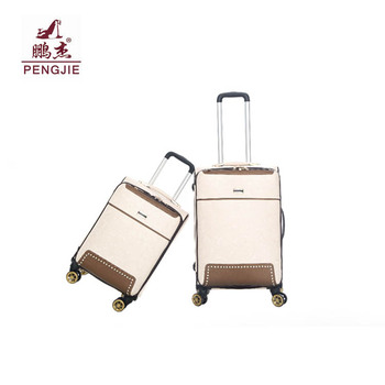 Factory price wholesale High-end brand beautiful designer luggage