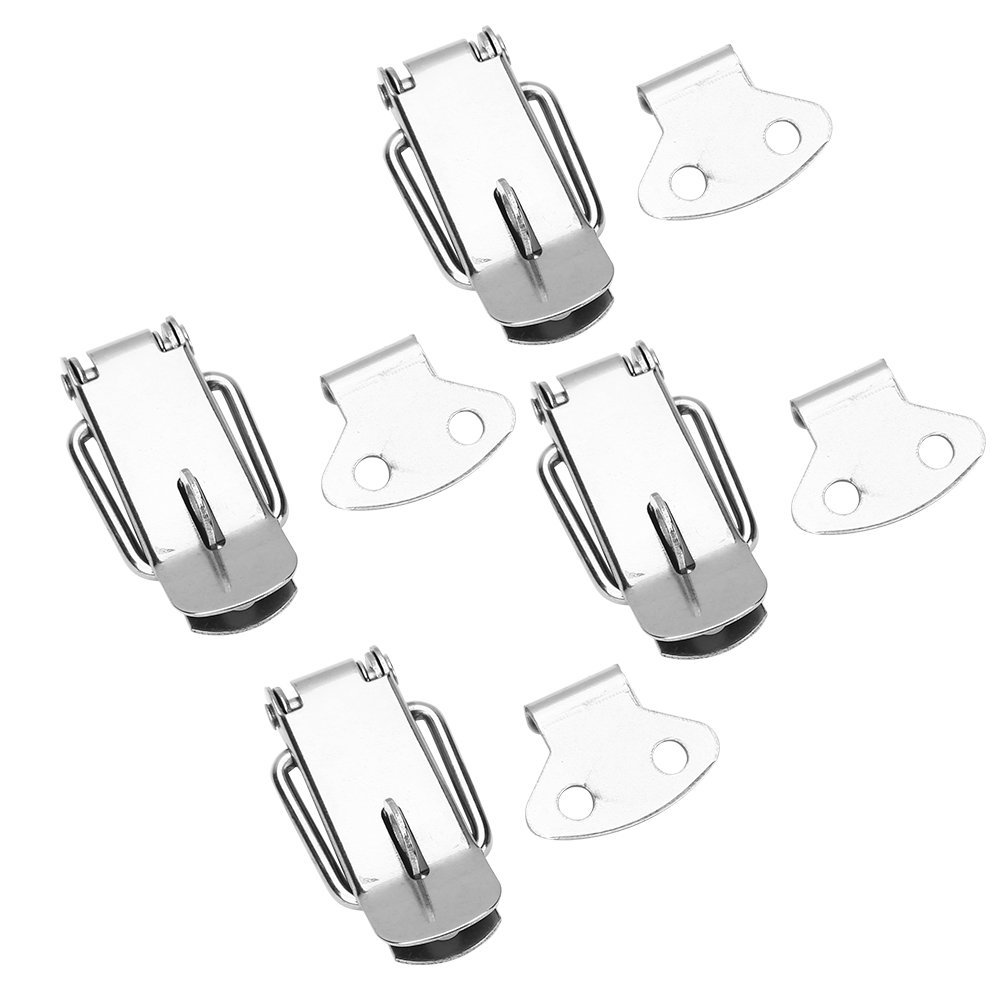 Antrader Spring Loaded Toggle Latch 5.1 x 1.57 Stainless Steel Case Box Chest Trunk Lock Clamps Catches Hasps LTD Pack of 4 5.1 x 1.57 Stainless Steel Case Box Chest Trunk Lock Clamps Catches Hasps Guangzhou Openfind Electronic Commerce CO