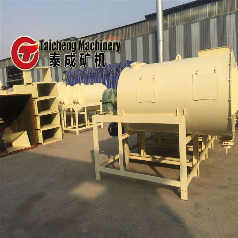industrial construction using dry mortar mixer machine use gas