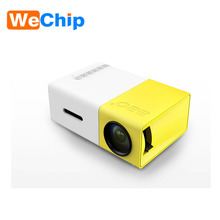 Built-in battery smart mini pocket projector HD 1080P OEM digital projector YG300 with TV tuner