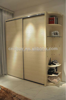 Korean Wardrobe Closet Cabinet With Sliding Door Wheels