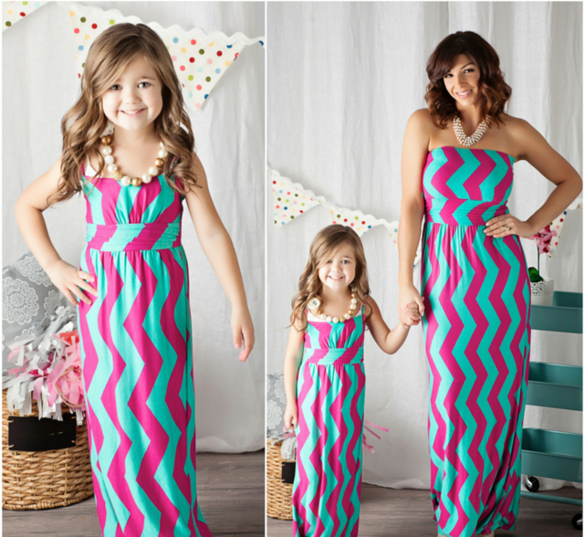 children boutique summer 2015 mother daughter family clothing