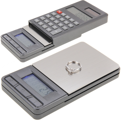 Digital 2 in 1 Electronic Pocket mini smart Balance Jewelry <strong>Scale</strong> with digits LCD Calculator