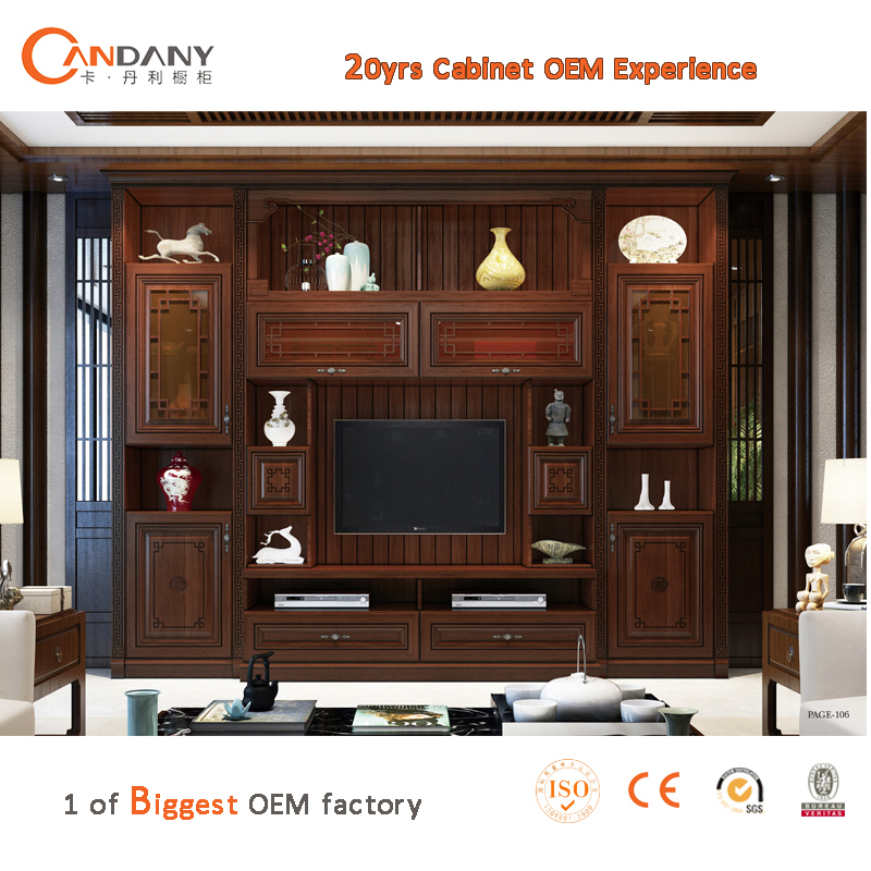 nouveau mod le tv cabinet avec vitrine salon meuble t l. Black Bedroom Furniture Sets. Home Design Ideas
