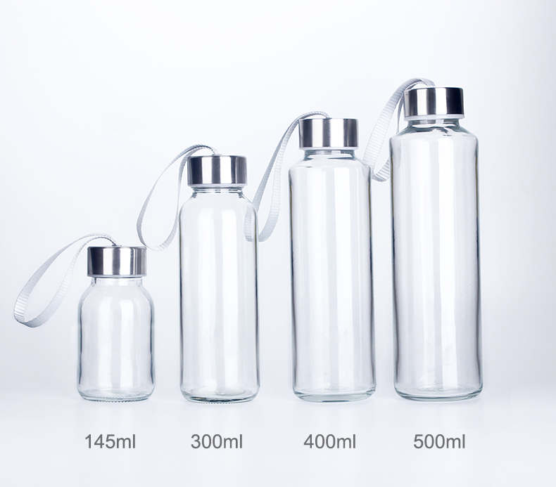 Whole Custom Private Lable Reusable Gl Water Bottle Bulk