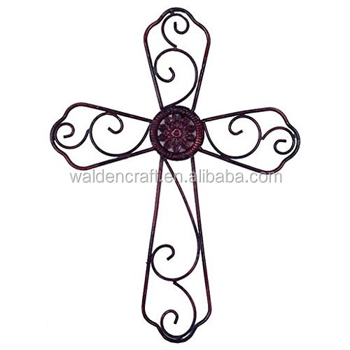 Wrought Iron Wall Crosses, Wrought Iron Wall Crosses Suppliers And  Manufacturers At Alibaba.com
