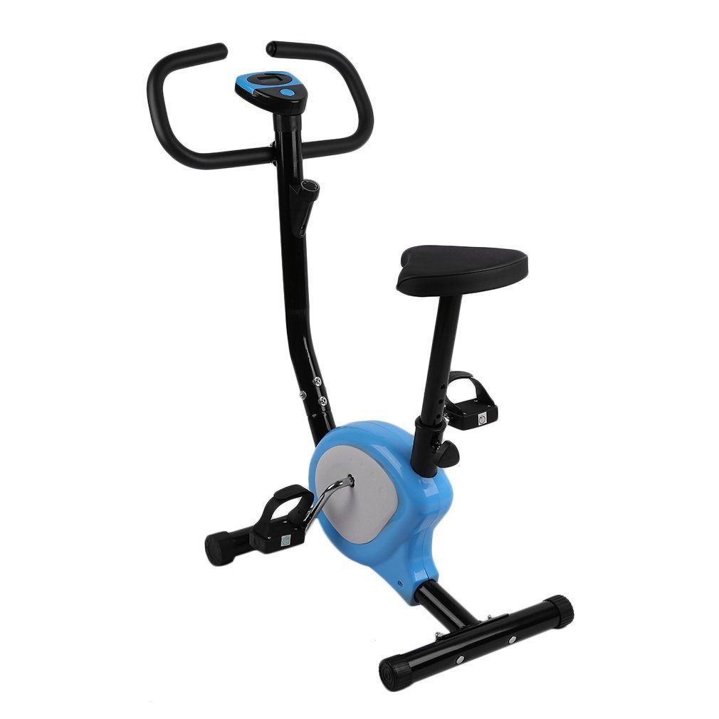 c202dbf2a74 Get Quotations · Belovedkai Upright Exercise Bike Cardio Fitness Cycling  Machine Gym Workout Training Stationary Fitness Cycle Cardio Aerobic