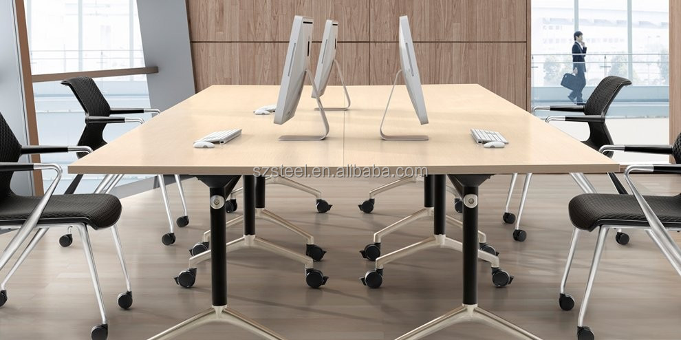 Metal Folding Table Leg With Round TopFoldable Table Frame With