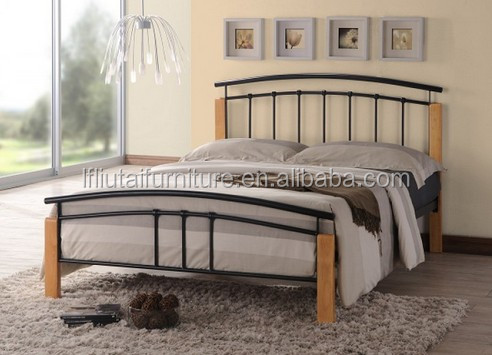 Twin Full Queen size metal bed new fashion design Iron bed MB  Twin full  queen. Iron Beds Designs