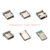 5pin smd micro usb B femelle connecteur USB prise