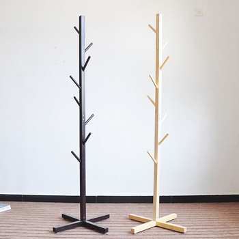 Hot Sale Wooden Diy Coat Rack Stand Eco Friendly Home