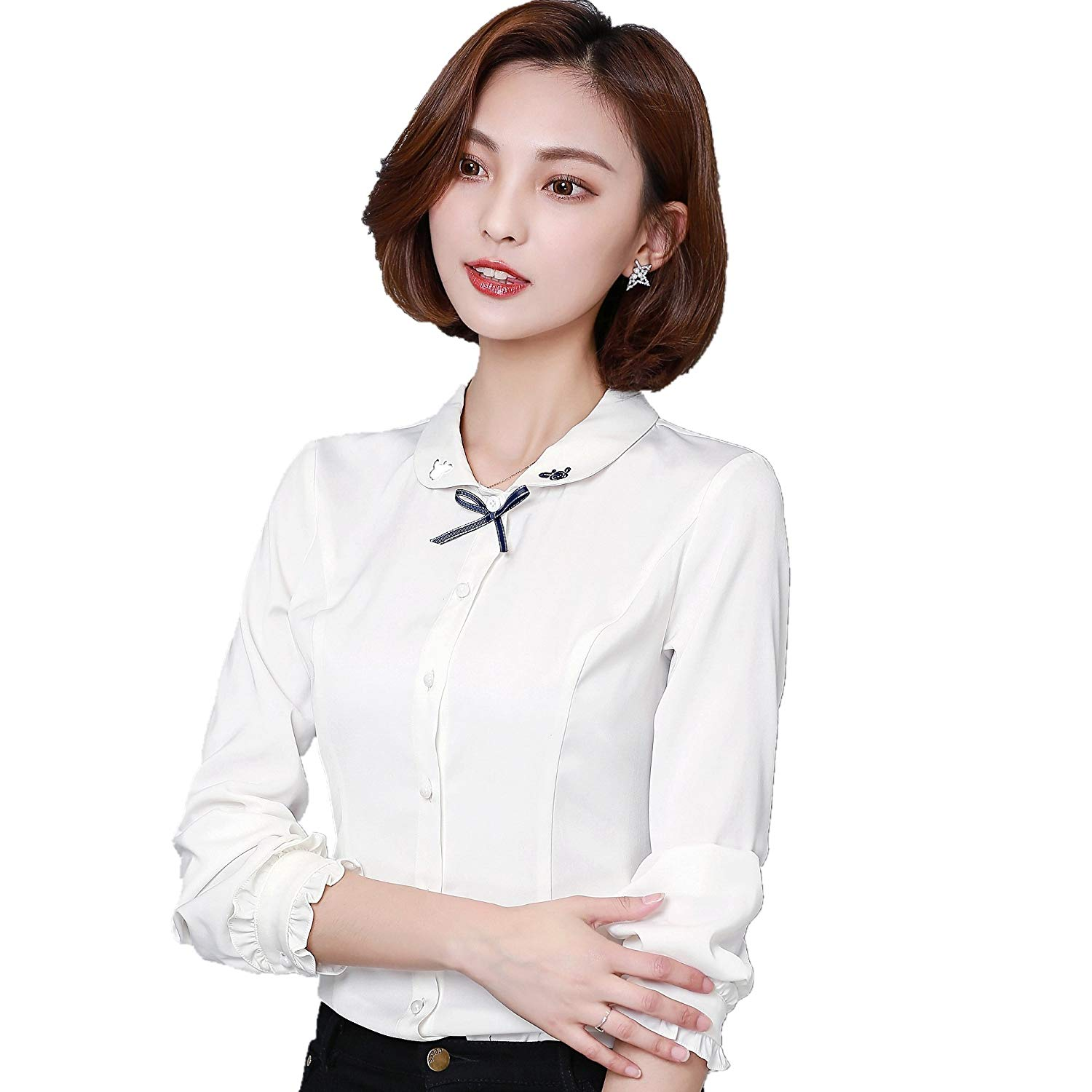 ba6cd6fb396 Cheap Frilly Blouse, find Frilly Blouse deals on line at Alibaba.com