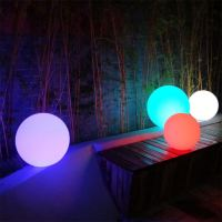 Led Lawn Lamp Luminous Color Changing Light Ball For Garden Swimming Pool Landscape Home Decoration Lights