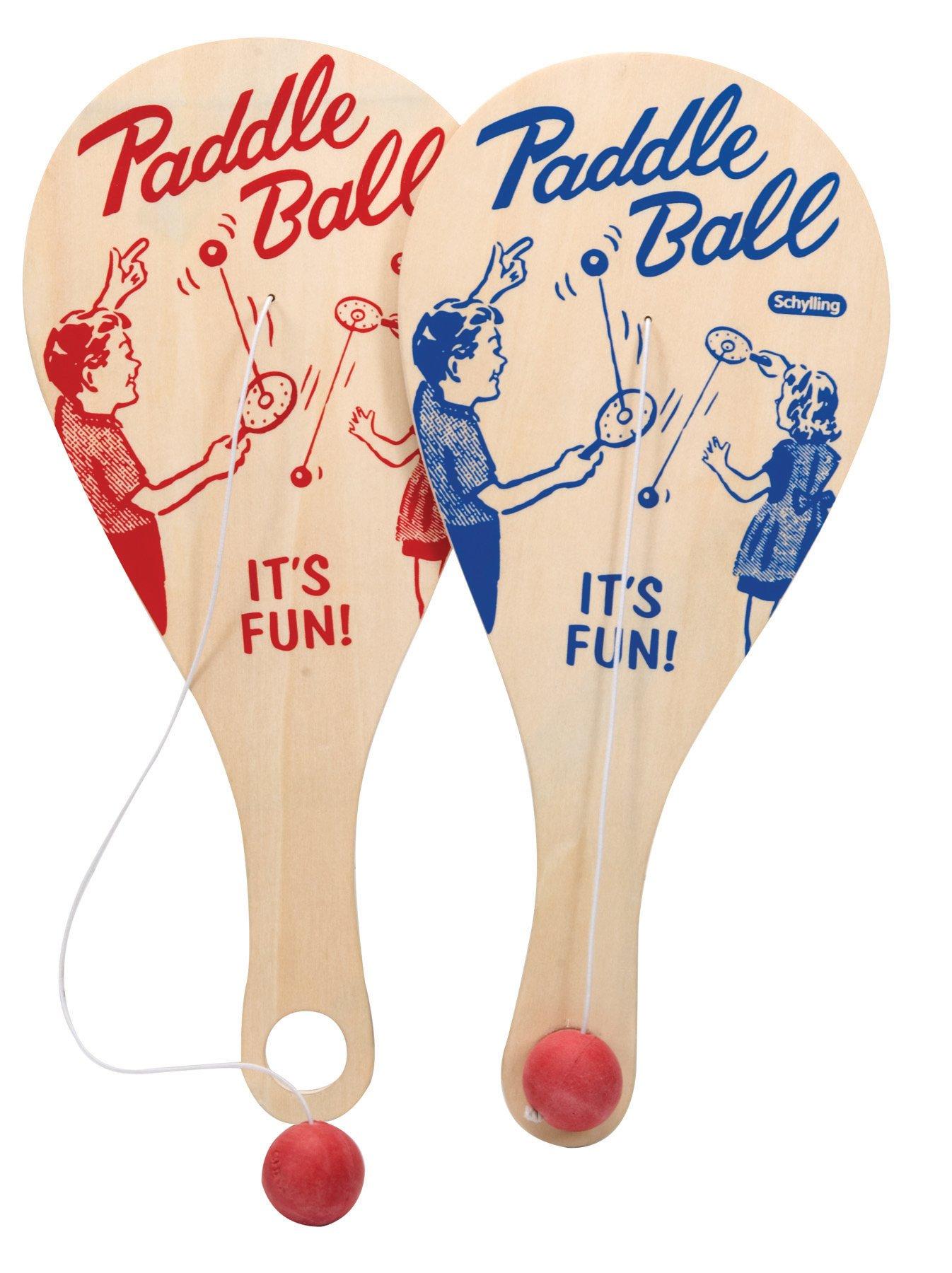 Paddle Ball Game