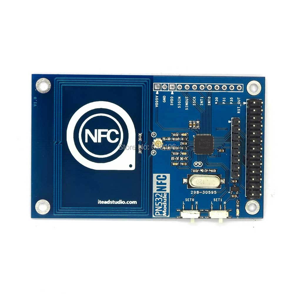 PN532 13 56mHz NFC RFID Reader/ Writer Module Compatible Raspberry Pi Board  For Arduino