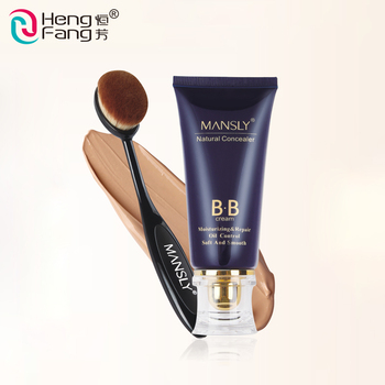 100% Natural Ingredients Cosmetic Waterproof Whitening Cream Foundation BB Cream