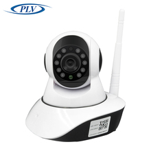 Onvif network cam mini robot ptz wifi wireless ip camera for home security sd card