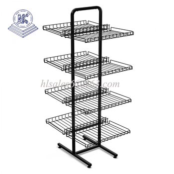 Retail metal candy snack hanging rack