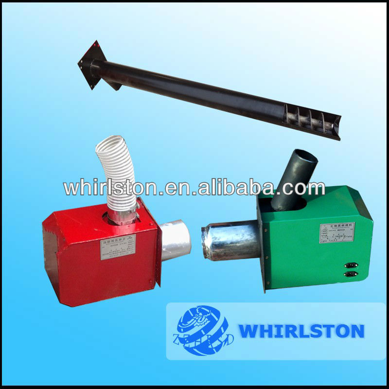 whirlston pellet burner with digital controller
