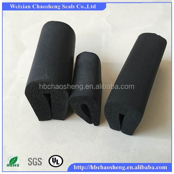 EPDM black rubber <strong>seal</strong> for watertight door
