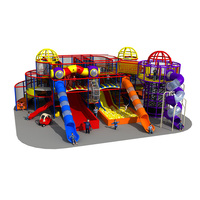 Multi-functional large playground children indoor play area kids ball pool equipment