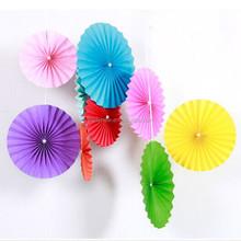 simple couche 12 30 cm multicolore ventilateur dcoratif de mariage papier fan - 30 Ans De Mariage Noce