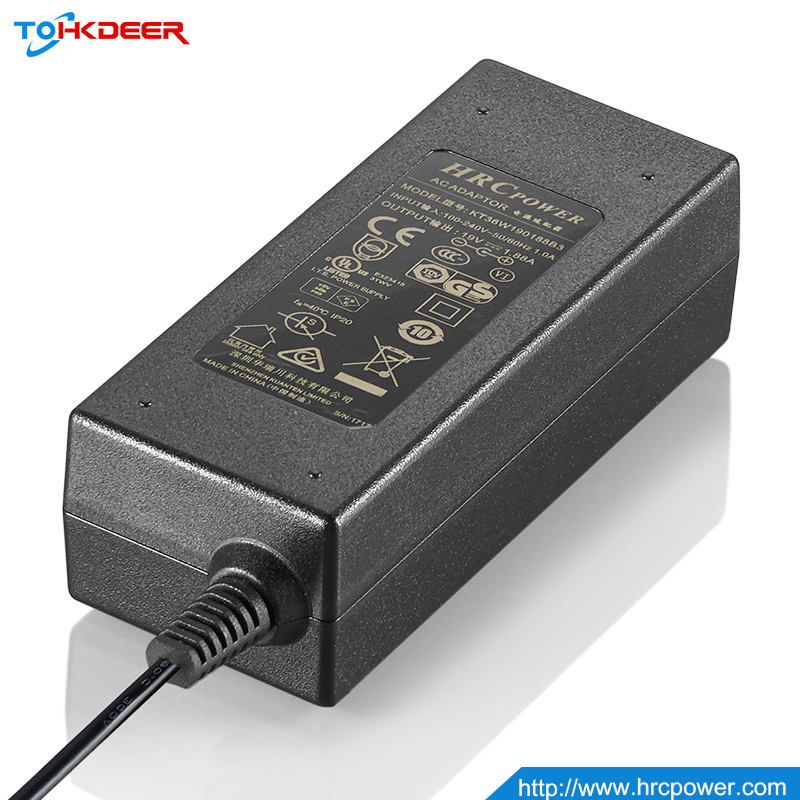 Black color Linear Power Supply 24v 1a usb power adapter with Australia plug